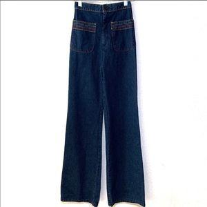 Levi's Wide Leg High Rise Front Pocket 70s Jeans